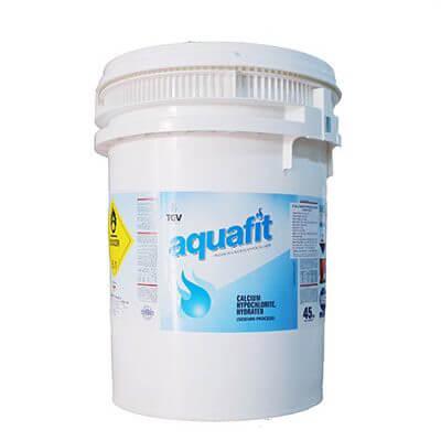 Chlorine Aquafit dạng vảy nhỏ màu trắng